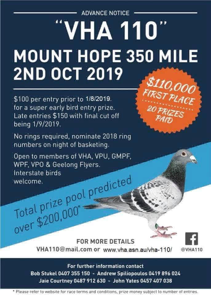 Greater Melbourne Pigeon Federation